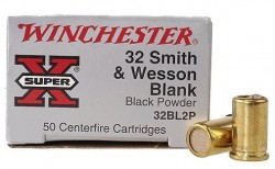 Winchester SuperX Blanks .32 SW Blanks 50 Count