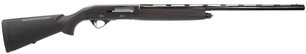 "BREDA Chiron Semi Automatic Shotgun 12 Gauge 30"" Barrel 3 Rounds Black Synthetic Stock with Black Rubber Finish BRE19"