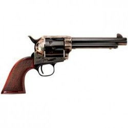 Taylors & Co. The Smoke Wagon Standard Edition.357 Magnum, 5.5-inch 6rd Blue/ Checkered Walnut