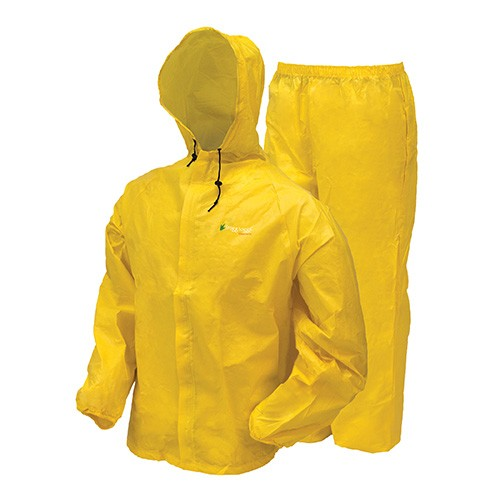 Frogg Toggs Rain Suit w/Stuff Sack MD-Yw