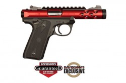 Ruger Mark IV 22/45 Lite .22lr 4.4in 10rd Red Anodized  43910