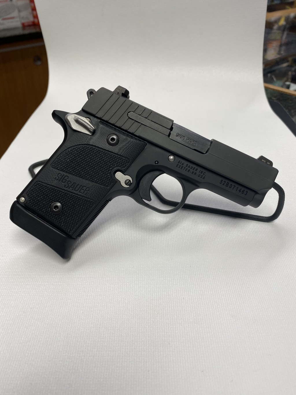 "USED SIG P938 9MM 3"" WITH BOX & ACCESSORIES"