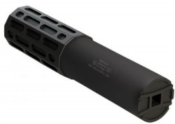 Gemtech One Suppressor Black .30Caliber 7.5-inch