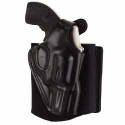 Galco Ankle Glove Holster - Right Hand, Black, For Glock 26/27/33 AG286B