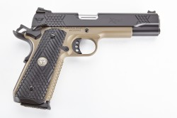 Wilson Combat X-TAC, Full-Size, 9mm, Black/Flat Dark Earth