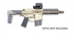 Q Honey Badger Pistol Flat Dark Earth .300 AAC Blackout 7-inch 30Rds with Stabilizing Brace