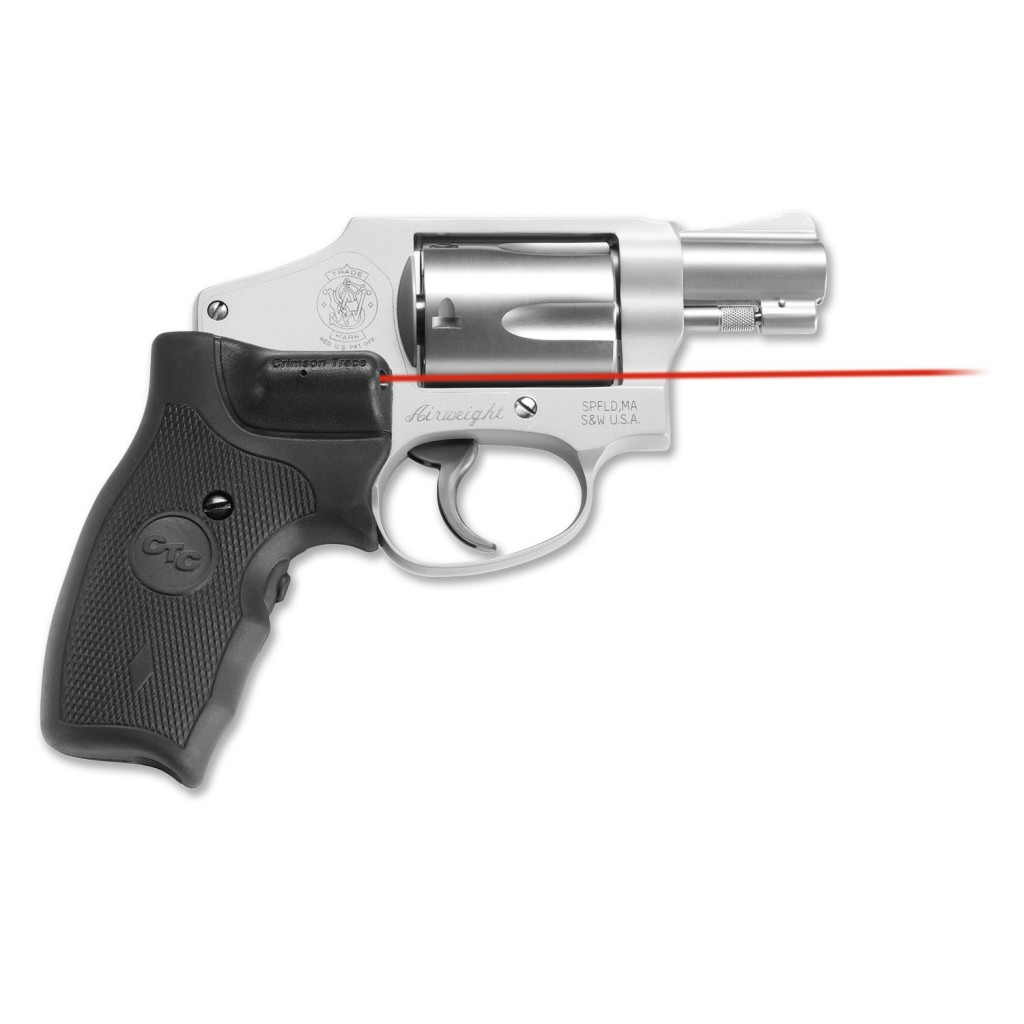 Crimson Trace Smith And Wesson J Frame Revolver Round Butt