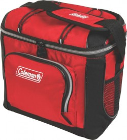 Coleman COLEMAN SOFT SIDED 16 CAN COOLER RED W/ LINER