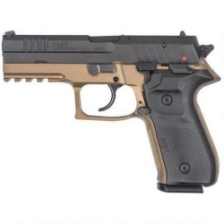 Rex Zero 1 Standard Flat Dark Earth / Black 9mm 4.3-inch 17Rds  Single/Double