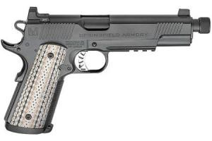 SPRINGFIELD 1911 Master Class Silent Operator 45ACP Black Nitride with Threaded Barrel PCE9105B