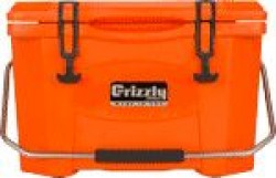 Grizzly Coolers GRIZZLY COOLERS GRIZZLY G20 ORANGE/ORANGE 20 QUART COOLER