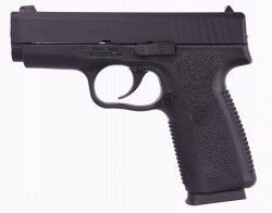 "Kahr CW45 45ACP 3.6"" Barrel W/Combat Rear Sight 6+1 Black/Black Cerakote CW4543CB"