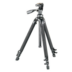 Bushnell Advanced Tripod, Black, 61in for Spotting Scopes, Binoculars, and Other 784030