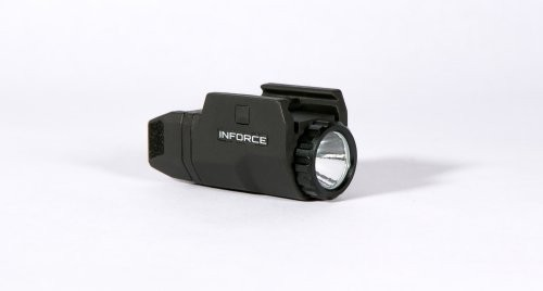 InForce APL-Compact LED Weapon Light Black with CR2 Battery 200 Lumens