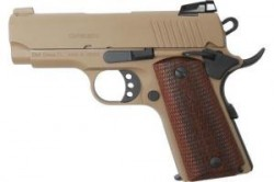 MKE Firearms 390047 MC1911SC Officer ADJ. Sights FDE 390047