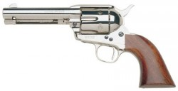 Taylors&co 555122 Cattleman Nickel Plated/walnut 45 Colt 5.5