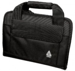 Leapers DELUXE DOUBLE PISTOL CASE BLK