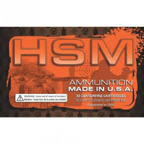 HSM .223 Remington Ammunition 50 Rounds Hornady V-Max 60 Grains