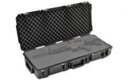 SKB Cases Injection Molded 36.5inx14.5inx6in Case w/Layered Foam, Black, 3I-3614-6B-L