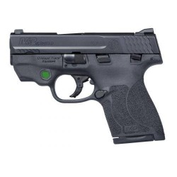 Smith and Wesson Shield 2.0 Black .40 SW 3.1-Inch 7rd Crimson Trace Laserguard