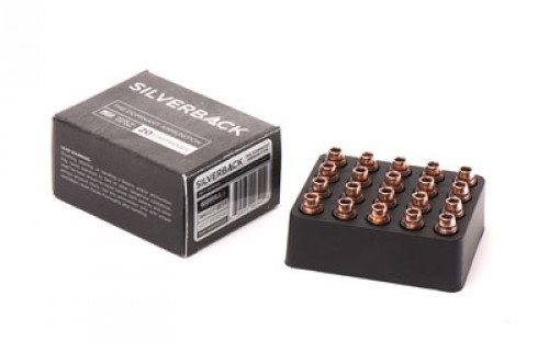 GORILLA AMMUNITION SB38095SD Silverback 380 ACP 95 GR Solid Copper Hollow Point 20 Bx/ 10 Cs
