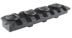 CAA AR15 3 inch Rail for Forend Black