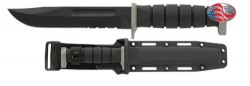 KA-BAR D2 Extreme Tactical / Utility Knife, Glass-Filled Nylon Sheath KB1282