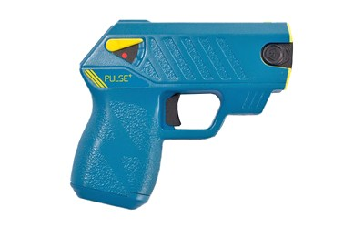 TASER PULSE + W/LASER/LED/2-CT BLUE