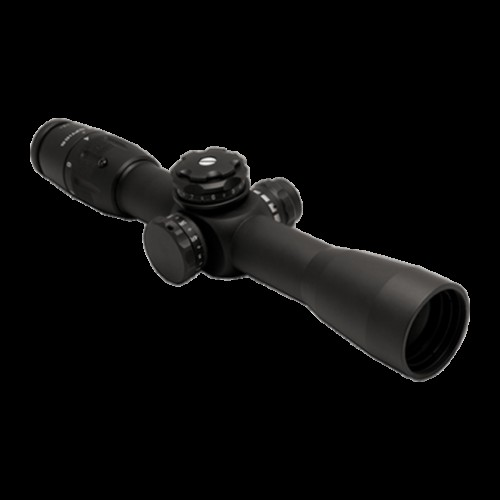 U.S. Optics B-10 1.8-10x40 mm Riflescope, Digital Red FFP MOA Scale Type 1 Reticle, 100 Click Elevation Knob and US#5 Windage Knob with 1/4 IPHY Adjustment, Matte Black, B-10 MOA