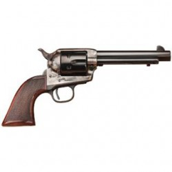 "Taylors & Co. 4110 The Smoke Wagon Standard Edition, .45 LC, 5 1/2"" Barrel, 6 Rounds, Checkered Walnut Grips/Blued"