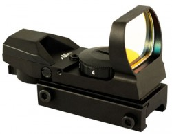 Aim Sports Inc Reflex Sight 1x34MM w/ 4 Reticles Black