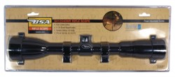 BSA Optics Special Series 4-12x40 Duplex Reticle Matte Black RifleScope S412X40WRCP