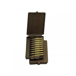 AMMO WALLET SML RIFLE 9RD - BROWN