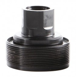 Dead Air Armament Wolverine Thread Insert 14mm Right Hand Thread Pitch Black Finish