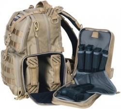 GPS Tactical Tactical Range Backpack, Tan GPS-T1612BPT