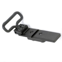 GG&G Black Standard/Heavy Duty Bipod Adapters for M14/M1A
