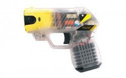 TASER PULSE + W/LASER/LED/2-CT CLEAR