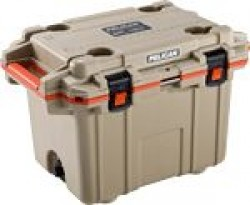 Pelican PELICAN COOLERS IM 50 QUART ELITE TAN/ORANGE