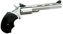 North American Arms Mini-Master Stainless Steel .22LR/.22WMR 4-inch 5 Rds