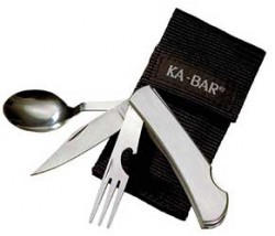 Ka-Bar HOBO forK/Knife/SPOON Stainless BX