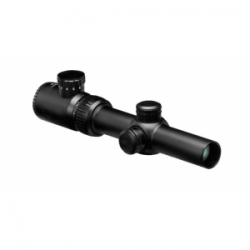 Rudolf Tactical T1 Rifle Scope - 1-4x24mm 30mm Tube Illum T2 Reticle